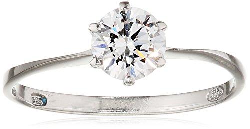 Tous mes bijoux anillos Mujer plata Plata de ley (925/1000) circón