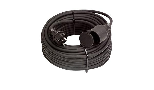 Gummikabel 3x1,5mm² 25m Stromkabel Lichtstromkabel Verlängerungskabel 230V