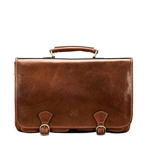 Maxwell Scott Bags® Leder Aktentasche