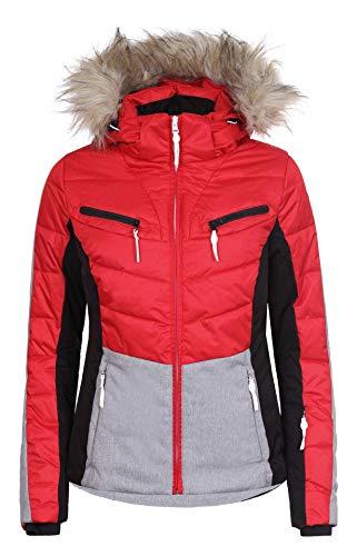 Icepeak Valda Damen Skijacke, Classic RED, Gr. 42