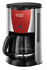 Russell Hobbs 19382-56 Cafetières Colors 1000 W Rouge