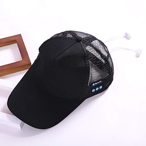 Andouy Sport Wireless Sport BT4.2 Music Hat Cap Speaker Headset Mic Earphone,Cuffie Bluetooth Wireless con Microfono Incorporato Mani Libere
