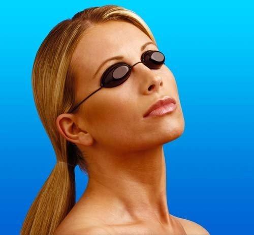 OSG UvA & UVB Schutz poliert Objektiv Solarium Eyewear Schwimmen igoggles 10Stück