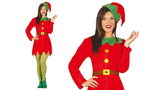 Costume elfo donna adulta elfa taglia L