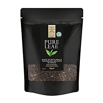 Pure Leaf Thé Noir aux Notes de Vanille Poche Vrac 200g - Lot de 2