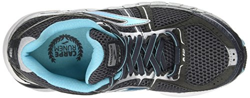 Brooks Addiction12, Scarpe da Corsa Donna Multicolore (antracite/bluefish)