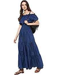 0e7c8fbd726 Denim Women s Dresses  Buy Denim Women s Dresses online at best prices in  India - Amazon.in