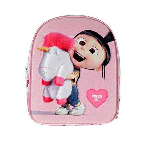 Le sac à dos élégant et déguisé pour les enfants, méprisable de Me 3 Agnes et Fluffy, avec son