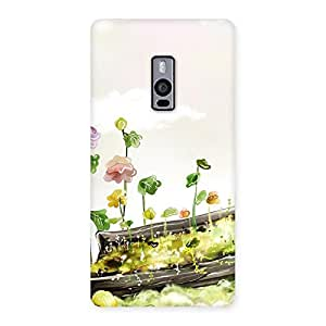 Enticing Fence Landscape Multicolor Back Case Cover for OnePlus Two