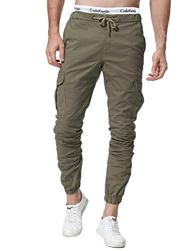 ZOEREA Pantalones Hombre Casuales Deporte