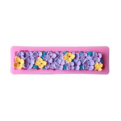 Level DIY Blumen-Kuchen-Silikon Formen Zuckermasse Schokolade Harz Ton Süßigkeiten Formen Fondant Kuchen, der Werkzeuge
