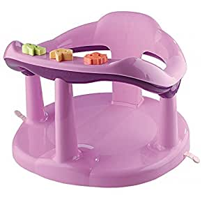 aquababy pink bath seat baby. Black Bedroom Furniture Sets. Home Design Ideas