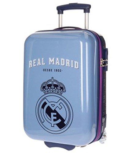 Real Madrid Hala Equipaje Infantil, 50 cm, 26 Litros, Morado