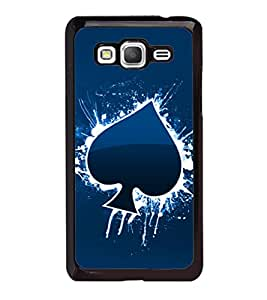 printtech Cards Spade Back Case Cover for Samsung Galaxy Grand Prime G530h