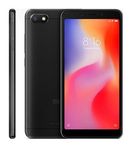 Xiaomi Redmi 6A Smartphone Dual Sim da 32 GB, Nero [Italia]