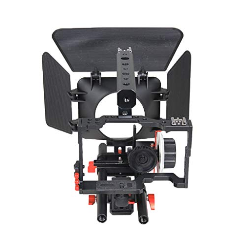 H HILABEE Film Film Video Making System Kit Für Sony A7 A7r A7s Serie DSLR Kameras 15mm Rod Rig Mit Griff Matte Box Und Folgen Fokus (# 3) -