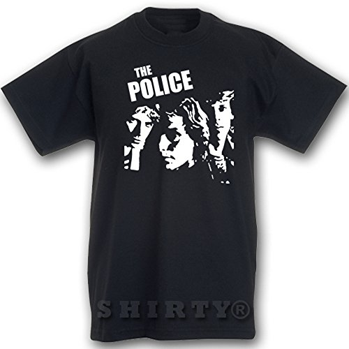 The Police - T Shirt - schwarz - S bis 5XL - 049 Schwarz