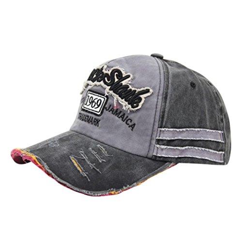Oyedens Herren Mützen Unisex Baseballmütze Baumwolle Motorrad Cap Kantenschleifen Do Old Hat (Dunkle Navy) (Motorrad-baseball-mütze)