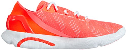 Under Armour Ua W Speedform Apollo Vent, Chaussures de course pour compétition femme Rouge - Rot (After Burn/White/White 878)