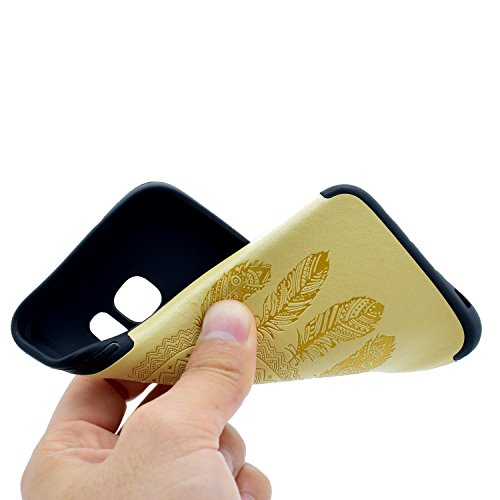 inShang Coque Samsung Galaxy S7 Housse Etui Plastique Case ductile TPU Yellow chimes