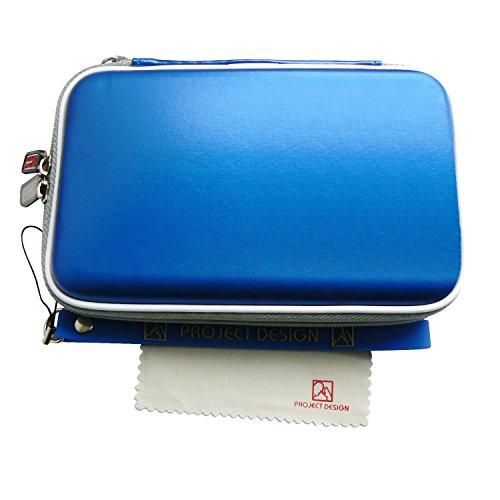 Preisvergleich Produktbild Tasche, Case für den Nintendo 3DS XL, DSi XL, New Nintendo 3DS, 3DS & DSi in Blau