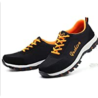 BHPL Steel Toe Shoes or Men Safety Shoe Lightweight Breathable Industrial Construction Outdoor Casual Sneakers,40