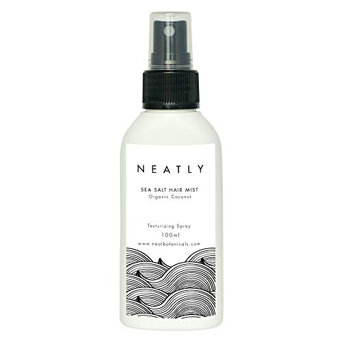 Nutrition cheveux Neatly Sea Salt Hair Mist | Spray sel de mer cheveux et soin cheveux | Huile cheveux 100ml | Alternative au shampooing