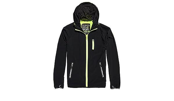 SUPERDRY Sports Active Flash Run Shell Veste Homme JAUNE Taille L   Amazon.fr  Vêtements et accessoires 870ab2409906