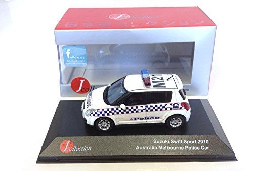 Ixo Suzuki Swift Australia Police Car 2010 Voiture 1/43 Japan JC157