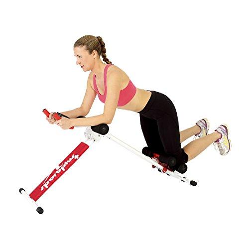 SportPlus AB Plank Bauchtrainer mit Trainingscomputer, zusammenklappbar, SP-ALB-011 - 4