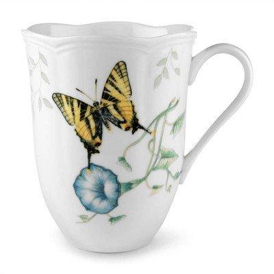Lenox Butterfly Meadow Tiger Swallowtail 12 oz. Mug Set of 4 by Lenox - Butterfly Meadow Tiger