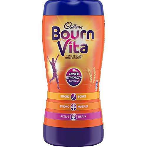 Cadbury Bournvita Chocolate Health Drink, 1kg Jar