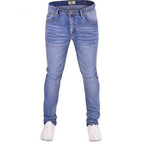 Mens Island Trading Skinny Stretch Slim Fit Stretchable Denim Jeans