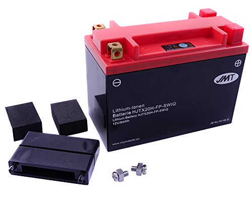 Batterie Lithium JMT HJTX20H-FP für KAWASAKI (Jet Ski) JS550 550 ccm Baujahr 82-85[ inkl.7.50 EUR Batteriepfand ]