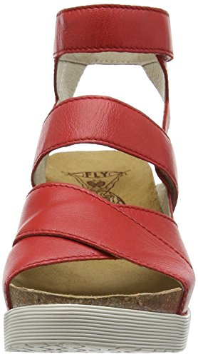 FLY LondonWEGE669FLY - Sandali Donna Rosso (Rot (SCARLET 001))