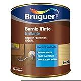 Bruguer 5160528 - Barniz tinte brillante Princesa CAOBA