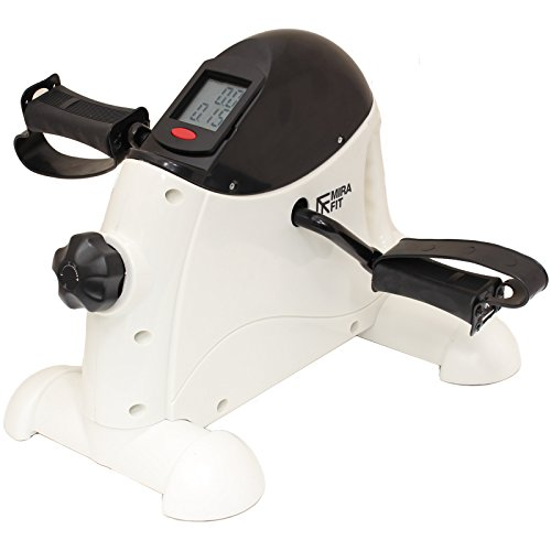 41%2BEQ42oTcL. SS500  - Mirafit Arm & Leg Mini Exercise Resistance Bike - LCD Display