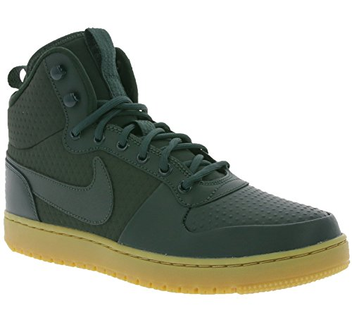 NIKE Court Borough Mid Winter, Chaussures de Basketball Homme