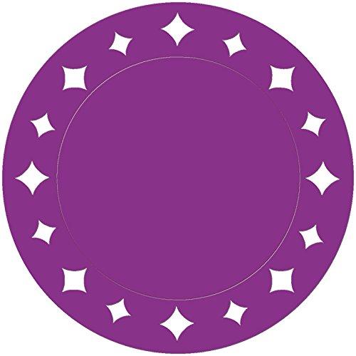 Givi Italia 62599 - Manteles Individuales (6 Unidades, 33 cm), Color Morado