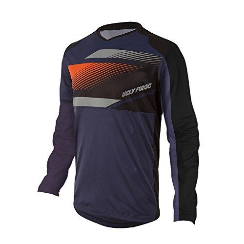 Uglyfrog Manica Lunga Magliette Downhill DH/AM/XC/FR/MTB/BMX/Moto/Enduro Camicia Offroad Racewear Abbigliamento Maglia da Ciclismo SJFX02