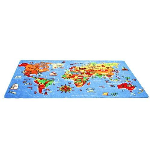 Spielteppich Welt 140x200cm