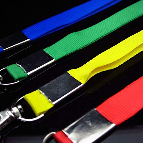 Gankmachine Metall-Hummer-Haken hängendes Seil Blau Karten Tag-Halter Handy-Keys Umhängeband Lanyard Zubehör -