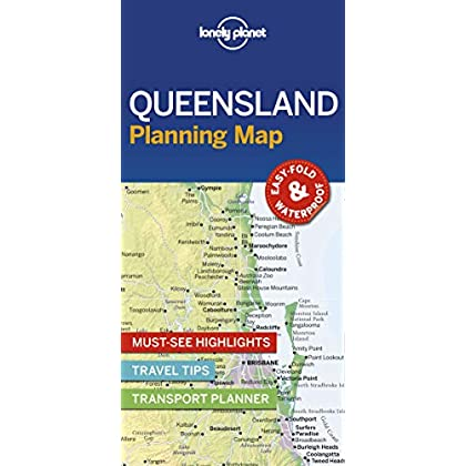 Lonely Planet Queensland Planning Map