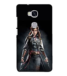 PRINTSHOPPII SUPERWOMEN Back Case Cover for Huawei Honor 5X