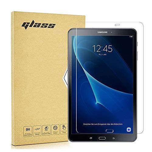1 X Samsung Galaxy Tab A6 10.1 Zoll Screen Protector ,Tempered Glass Hartglas Displayschutz Folie für Samsung Galaxy Tab A6 (2016) T580/T585 Schutzfolie Glas