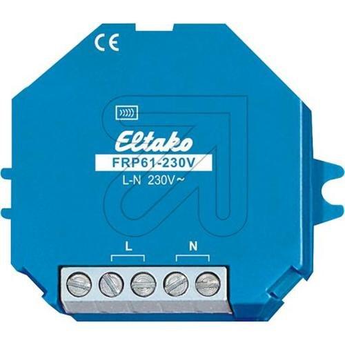 ELTAKO FRP61-230V - DETECTOR FABH63AP-RW RADIO EXTERIOR MOVIMIENTO LUMINOSO NIEVE