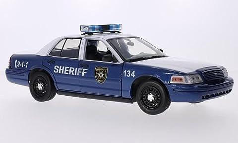 Ford Crown Victoria Police Interceptor, 2010, Modellauto, Fertigmodell, Greenlight 1:18