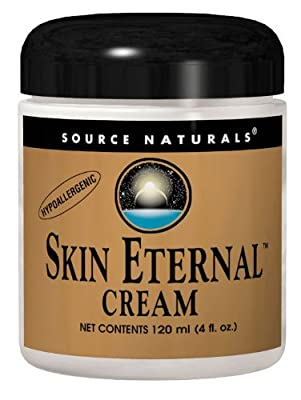 Source Naturals Skin Eternal Cream, with Lipoic Acid, DMAE, C-Ester & CoQ10, 4 oz (113.4 g) by Source Naturals