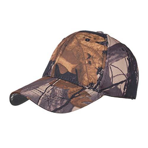 Yvelands Damen Herren Cap Hut Baumwolqualitäts-gestickte Unisex Baseballmütze Einstellbar(Kaffee) (Herren New York Yankees Kostüme)