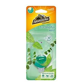 Armor All Car Air Freshener Hanging Diffuser Eucalyptus Mint Green